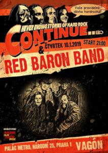 Red Baron Band Vagon 1.10. 2019 web
